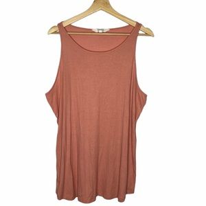 Danskin Blush Pink Tank Top Plus Size XXL